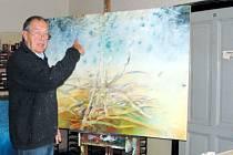 Jindřich Gola je známý především jako malíř krajin na rozhraní snů a reality. Spektrum jeho umělecké tvorby je ale daleko širší.