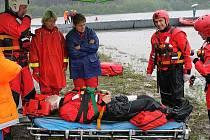 Mezinárodní soutěž ve vodním záchranářství na Slezské Hartě.