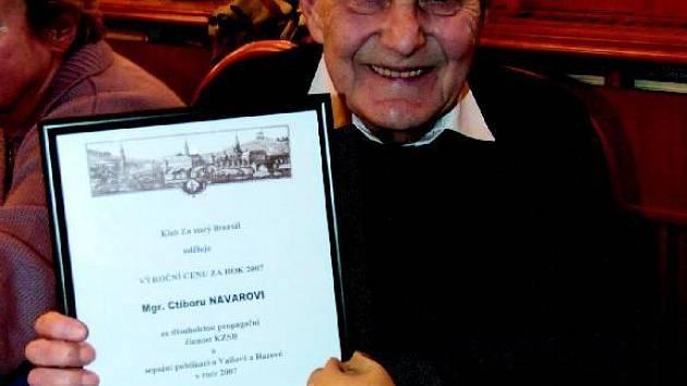 Ctibor Navara patří k zakládajícím členům Klubu Za starý Bruntál.