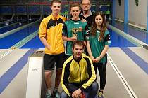Úspěšné družstvo, které vybojovalo nejcennější kov na regionální soutěži dorostu.