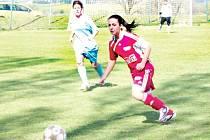 Dívky Olympie potvrdily v domácím utkání s Trojanovicemi jasnou roli favorita.