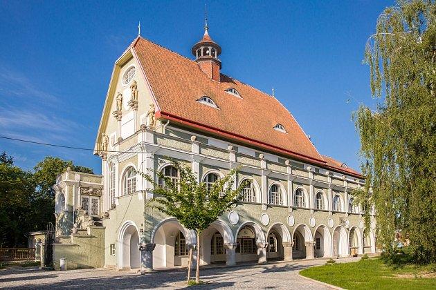 Středisko volného času v Krnově.