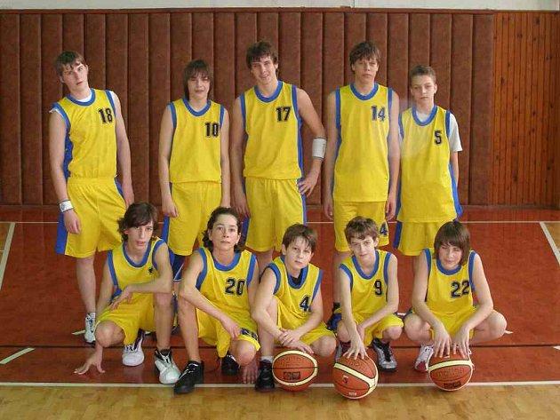 Mladší žáci BCM Intext Krnov vyhráli v Mohelnici.