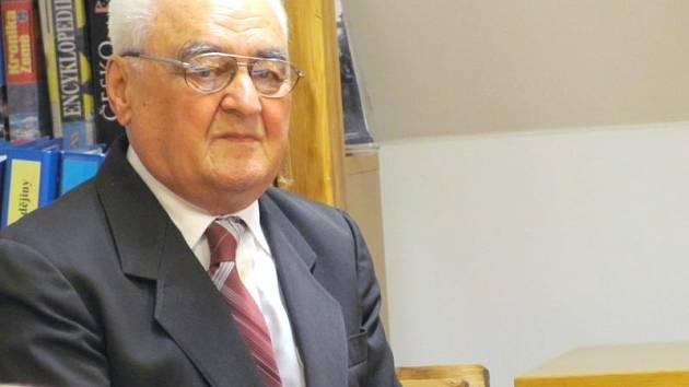 Krnovský historik a spisovatel Vladimír Blucha