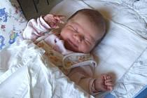 Karolínka Klimeková se narodila 8. října, vážila 3,26 kg a měřila 49 cm.