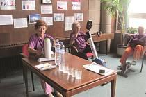 Zahájení projektu Jedeme v tom společně si užili i senioři v Krnově.