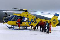 Posádky zdravotnické záchranné služby byly v sobotu dopoledne volány k vážnému úrazu dítěte v Jeseníkách.