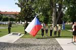 Den vítězství, osvobození města od nacismu a konec války si Krnované připomenuli položením věnců a kytic k památníku ve Smetanových sadech a  na hřbitově.
