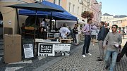 Festival kávy oživil prostor mezi krnovským Priorem a podloubím.