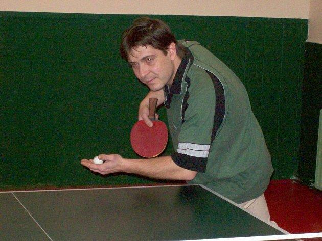 Tomáš Galetka je vynikající stolní tenista. Loni se stal přeborníkem regionu.