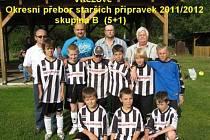 Vítězství slavili mladí fotbalisté Juventusu i v soutěži okresního přeboru starší přípravky 5 + 1.