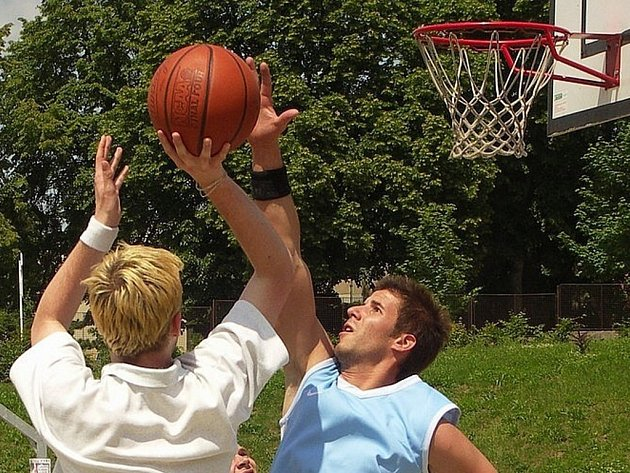 Streetball - ilustrační foto.