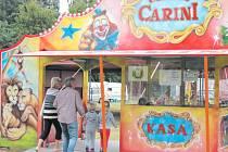 Cirkus Carini se opět vrátil do Krnova.