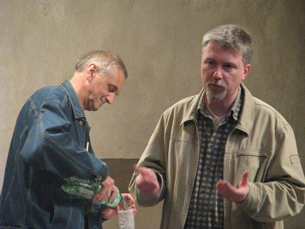 David Vávra (vlevo) a Radovan Lipus (vpravo).