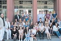 Studenti krnovského gymnázia si našli mezi německými vrstevníky řadu přátel.