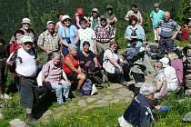 Německý turistický týden si v Jeseníkách společně užili němečtí rodáci a členové krnovského odboru Klubu českých turistů (KČT).