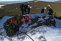 Soutěžní den mezinárodního Mistrovství Armády České republiky v zimním přírodním víceboji Winter Survival 2011.