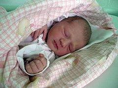Zara Jurczigová z Českého Těšína se narodila 28. července v Třinci. Měřila 48 cm a vážila 2980 g.