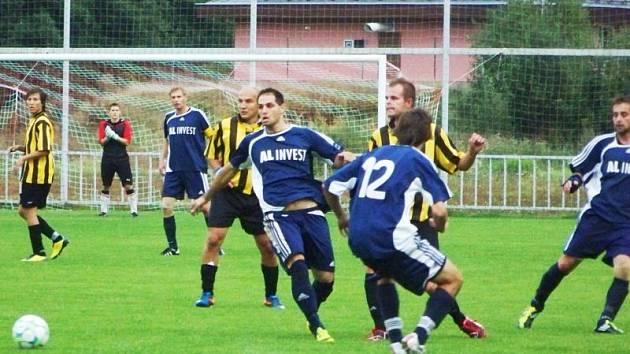 Fotbalisté Břidličné vybojovali v sobotním utkání na vlastním hřišti s týmem Suchých Lazců bod za remízu 1:1.