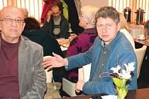 S poskytovateli sociálních služeb se kromě několika dalších zastupitelů Bruntálu setkali i radní Aleš Jedlička a druhý místostarosta Libor Unverdorben.