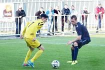 V nedělním utkání krajského přeboru se domácí fotbalisté FK Krnov rozešli se soupeřem z Dětmarovic bezbrankovou remízou.