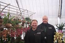 Pavel a Pavlína Florovi v Úvalně vybudovali zahradnické centrum Zahrada Flora.