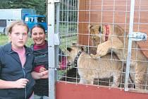 Pokračovatelky rodu a řemesla má cirkusová rodina Navrátilových z cirkusu Carini zajištěny ve svých čtyřech mladých děvčatech. Na snímku jsou sestřenice Denisa a Natálie Navrátilovy. Ty rády tráví valnou část dne u malých lvíčat, psů nebo koní.