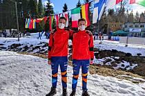 Lyžařský orientační běh měl zastoupení na světovém šampionátu