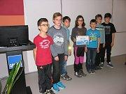 Žáci z Břidličné na soutěžním klání s přírodovědnou tématikou v Ostravě.