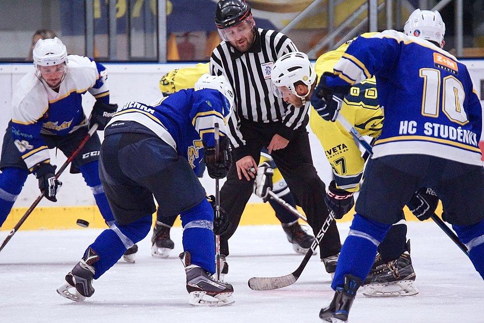 Krajská hokejová liga: HK Krnov – Studénka 5:3