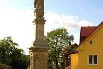 Socha Panny Marie Immaculaty v Tvrdkově potřebovala nutně restaurovat.