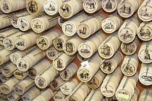 Turistické známky. Ilustrační foto.