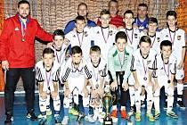 Mladí fotbalisté Dunajské Stredy přetlačili ve finále výběr Západoslovenského fotbalového svazu.