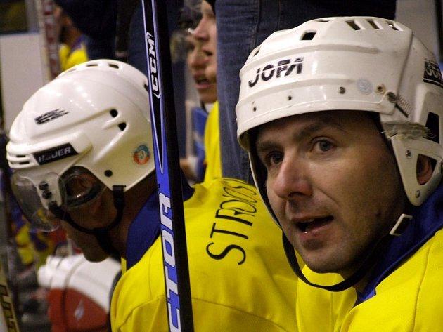 Krnovští hokejisté. Ilustrační foto.