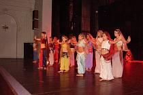 Mimořádný úspěch mělo na festivalu vystoupení břišních tanečnic.