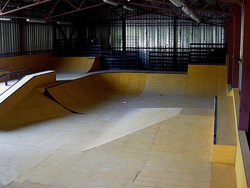 Vizualizace nové podoby skateparku v Karviné.