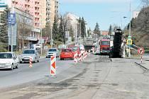 Z Nádražní ulice půjde projet do Revoluční ulice a ulice Na Nábřeží, ale naopak do Opavské ulice nepůjde projet vůbec.