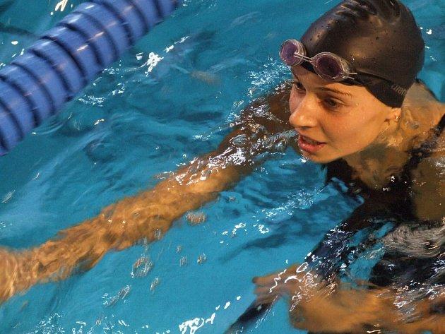 Životního výsledku dosáhla sedmnáctiletá Hana Křemenová