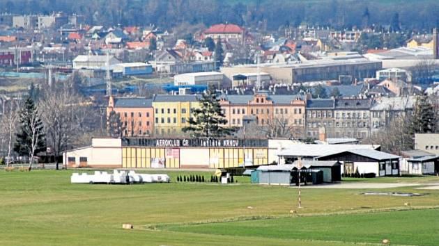 Letiště v Krnově.