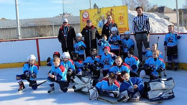Malí hokejisté Bruntálu