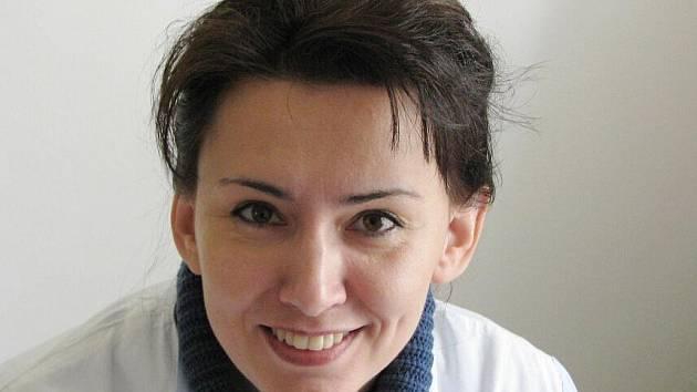 Štěpánka Čáslavská, vrbenské domy s pečovatelskou službou, zaměstnankyně bruntálské obecně prospěšné společnosti HELP-IN.