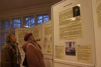 O návštěvu vily i expozice byl mezi veřejností zájem.