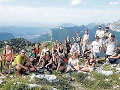 Mezinárodní setkání v Alpách spojilo mladé krnovské hasiče s jejich vrstevníky z Litvy, Francie a Polska.