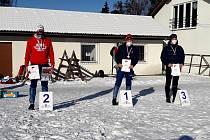 Lyžařští orientační běžci  z Vrbna brali medaile. Foto: Archiv klubu