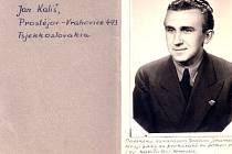 Jan Kališ z Krnova věnoval tuto fotografii svému norskému příteli v červenci 1945. John-Henrik Johansen, autor knihy o Češích, kteří byli za války nasazeni v Norsku, požádal Deník o pomoc při pátrání po osudech pana Kališe.