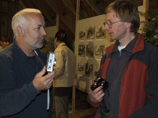 Jedním z inspirátorů  plenéru, výstavy i veškerého kulturního děni v Malé Morávce je historik Igor Hornišer.