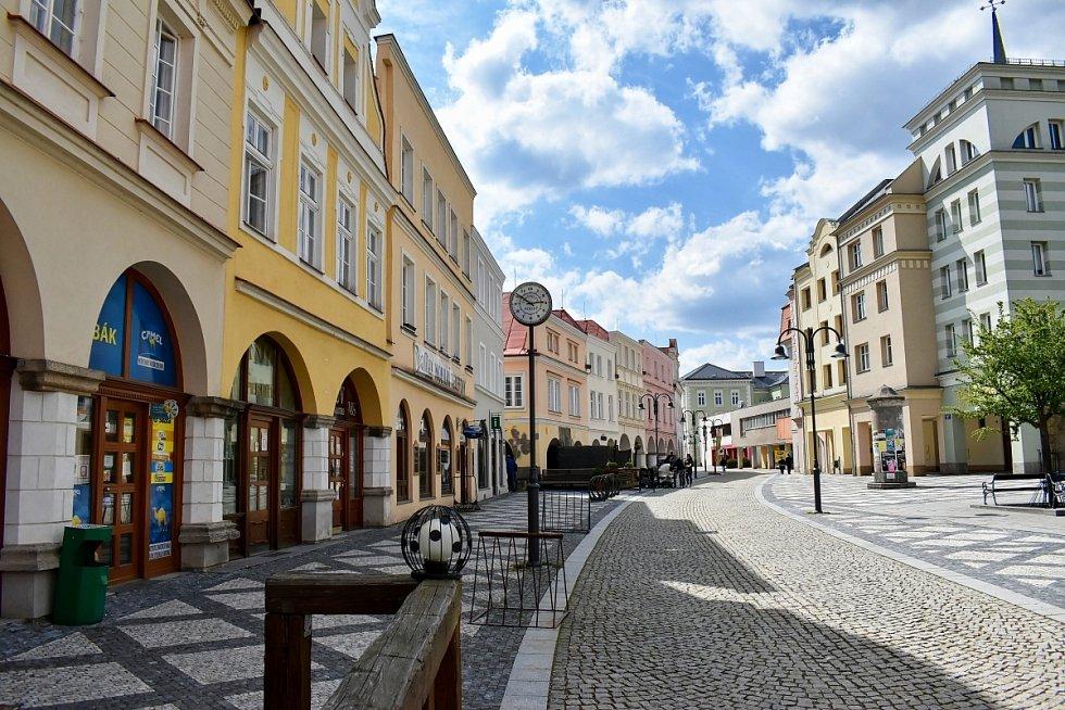 Ulička v Krnově