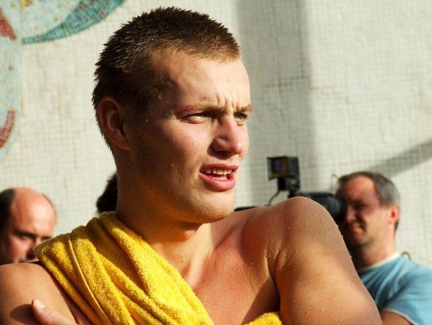 Krnovský plavec Libor Smolka.