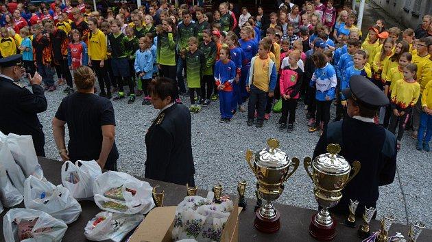 Holčovice hostily krajskou pohárovou soutěž hasičů, ve které se utkalo 17družstev mladších a 17družstev starších žáků.