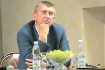 Andrej Babiš v rámci své návštěvy Moravskoslezského kraje přijel také do Krnova.
